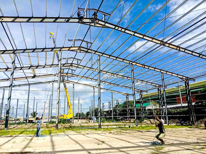 UNIPHIL MULTI-SALES 菲律宾钢结构物流仓库项目