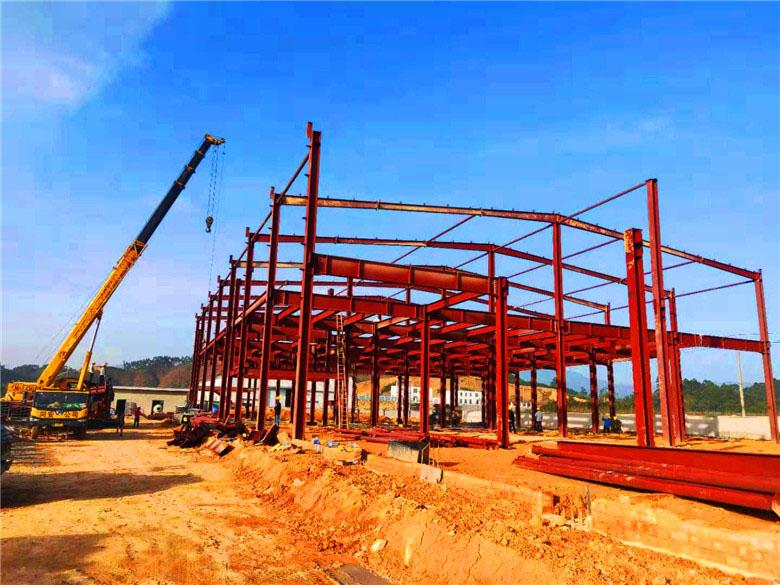 广西智佳大食品公司钢结构车间项目