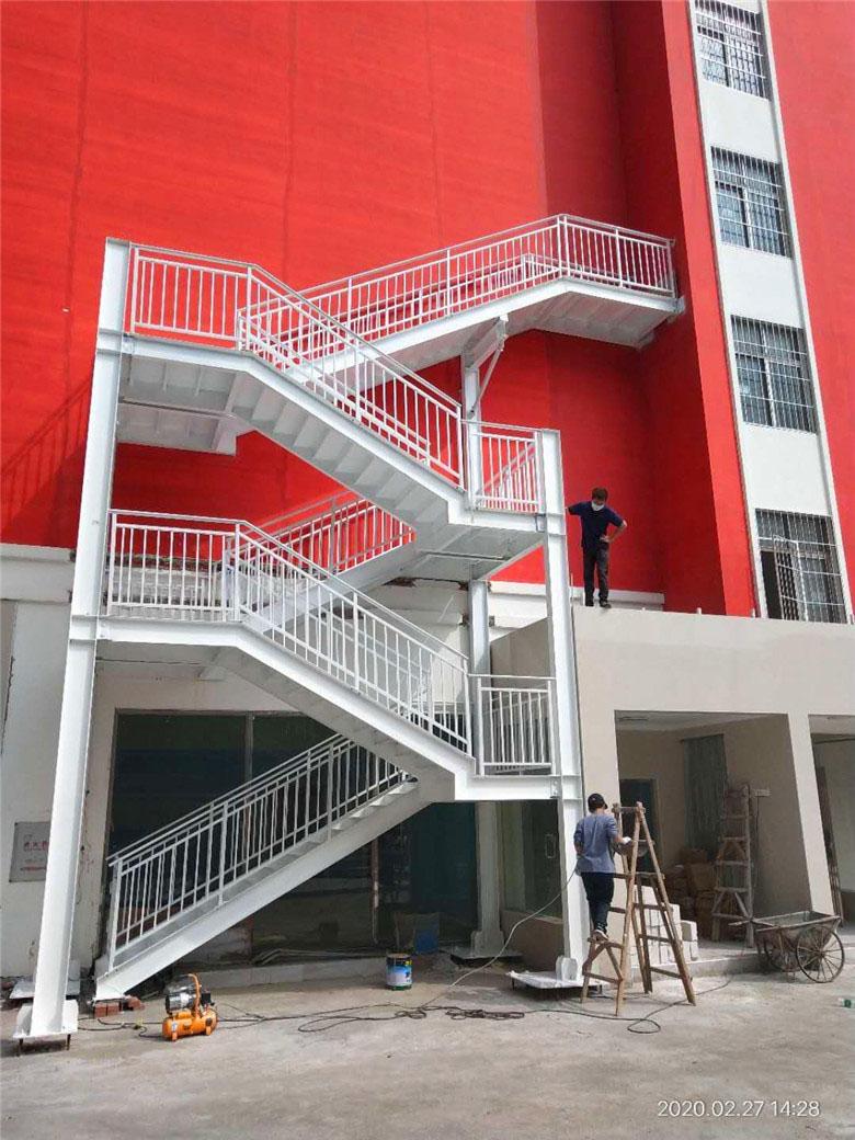 【众工工程案例】—— 钢结构楼梯定制