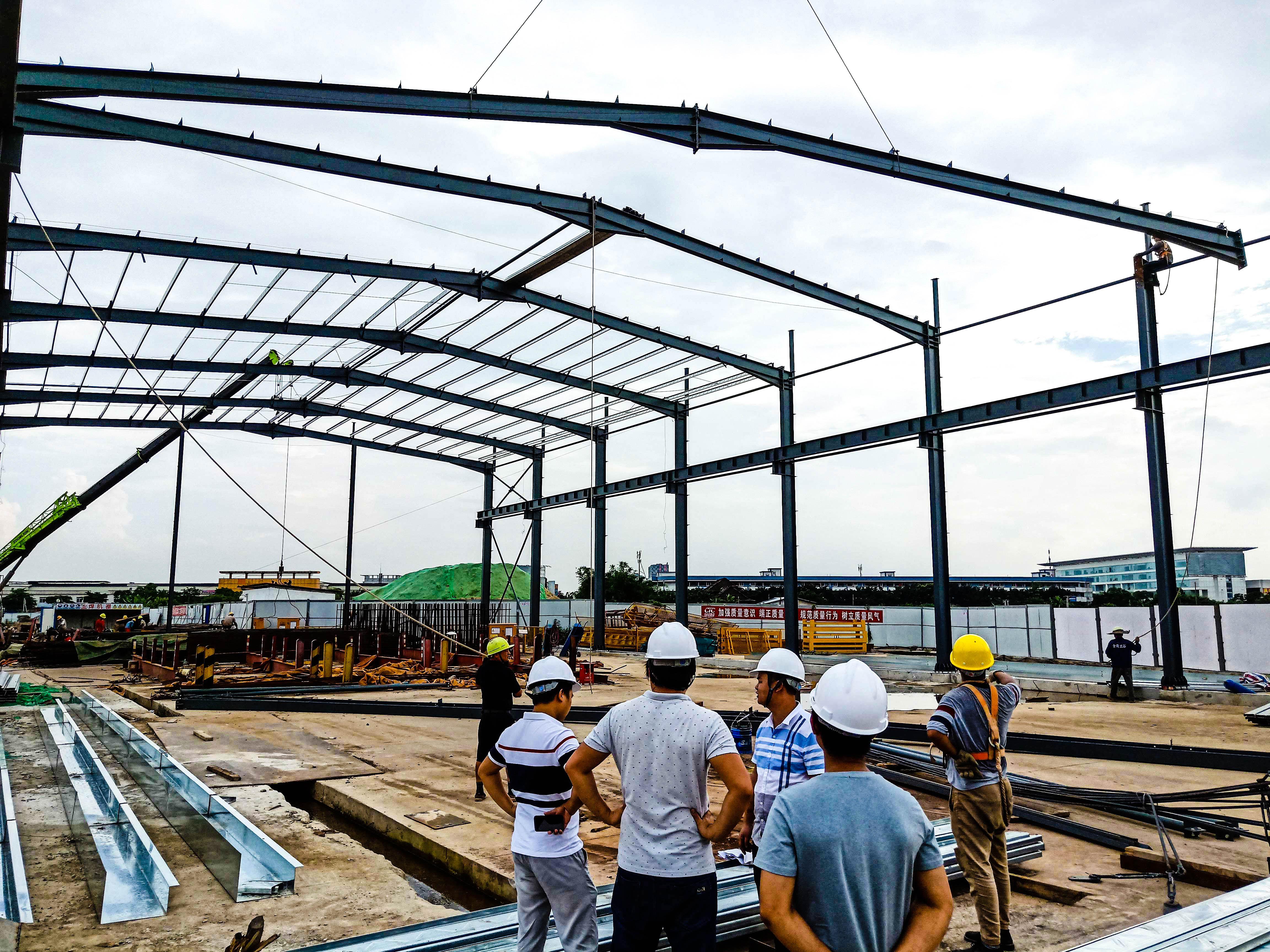 【众工工程案例】—— 钢结构厂房建造