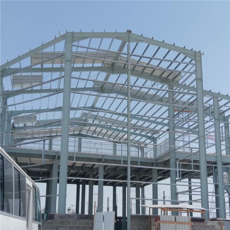 【众工工程案例】—— 卡塔尔钢结构仓库