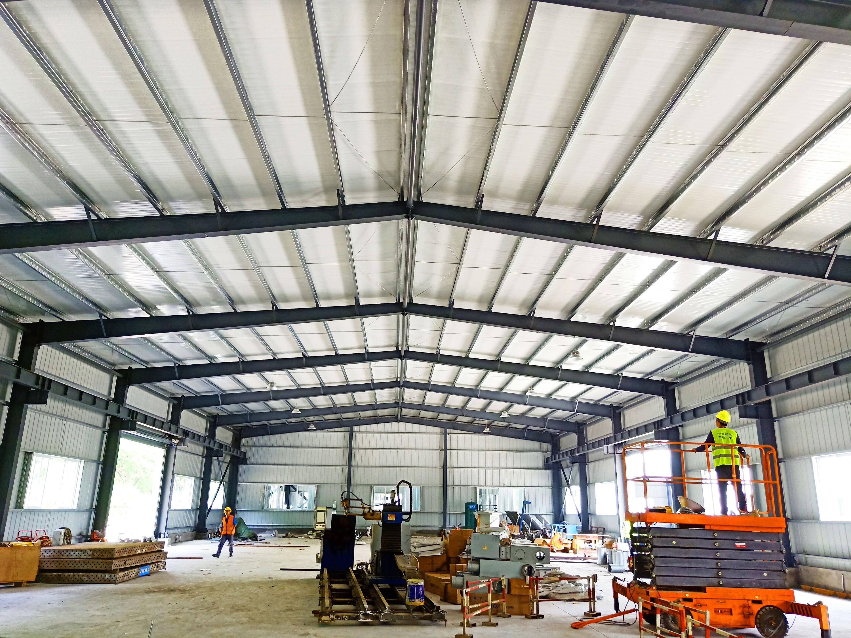 【众工工程案例】—— 钢结构厂房工程