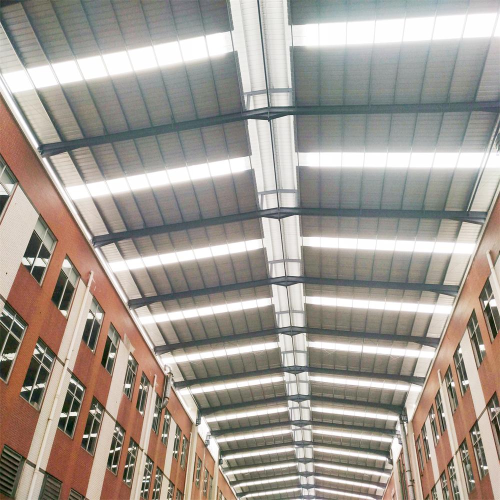 【众工钢结构工程案例】—— 钢结构雨棚制作